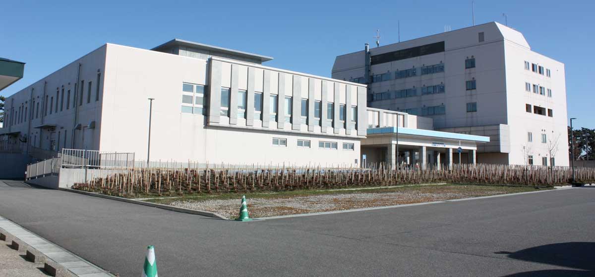 日本海酒田リハビリテーション病院外観