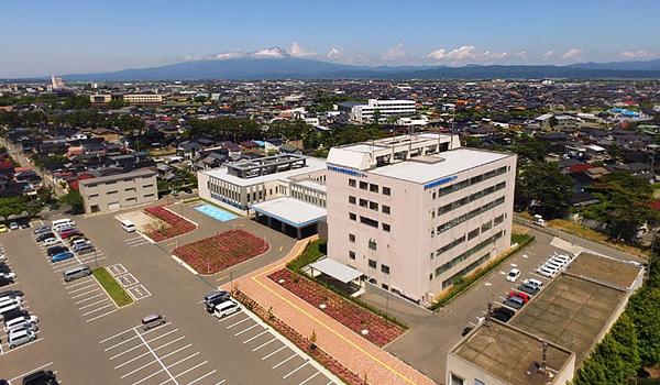 日本海酒田リハビリテーション病院空撮