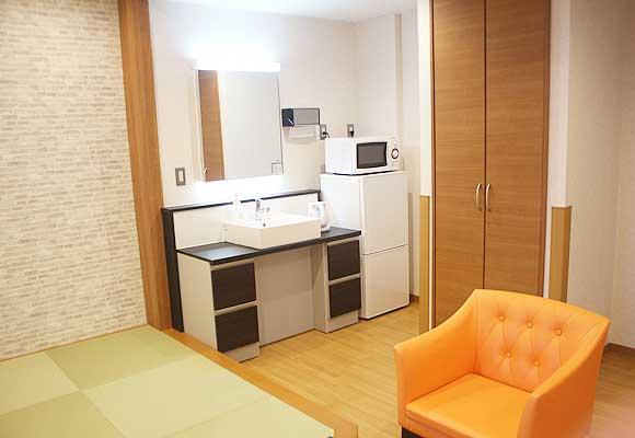 ファミリールーム(特別室B)2の部屋内の紹介画像です。